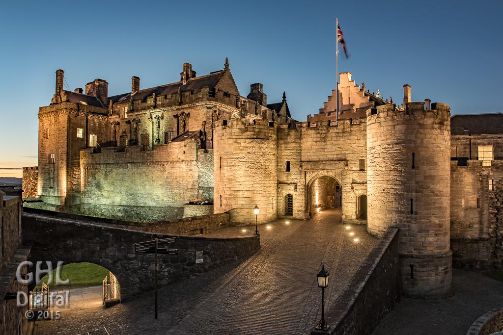 Stirling Castle Ghl Digital Photography