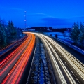 20150201 001 Motorway light Trails (Wm)