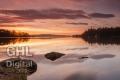 20131130 001 Loch Lomond Sunrise (Wm)